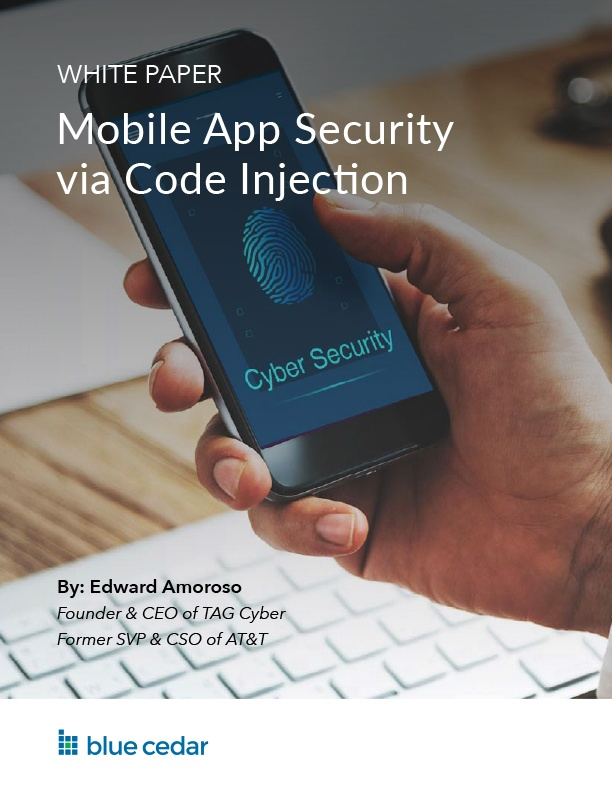 Mobile App Security via Code Injection