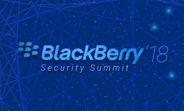 Blackberry '18 Security  Summit