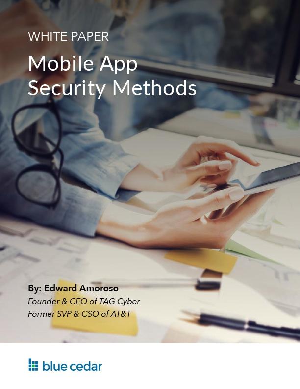 Mobile App Security Methods